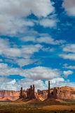 Totem Pole Monument Valley Stock Photography