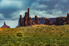 Totem Pole Monument Valley Royalty Free Stock Image