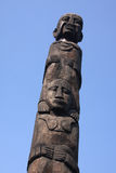 Totem pole Royalty Free Stock Images