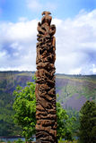 Totem Pole Royalty Free Stock Image