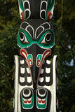 Totem Pole, Stanley Park Stock Photo