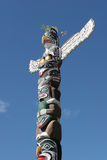 Totem pole in Stanley Park, Vancouver Royalty Free Stock Images