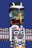 Totem Pole - Stanley Park - Vancouver - Canada Royalty Free Stock Images