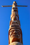 Totem Pole in Stanley Park, Vancouver Stock Image