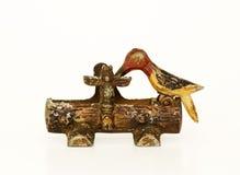 Totem pole toothpick holder royalty free stock image