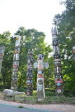 Totem pole Royalty Free Stock Photos