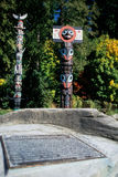 Totem pole- Vancouver, Canada Stock Photo