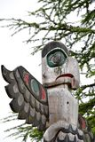 Totem pole stock photos