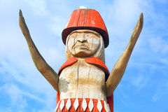 Totem Pole, West Vancouver Stock Photos