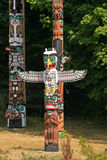 Totem Poles Royalty Free Stock Images