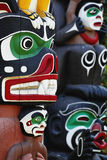 Totem poles Stock Image