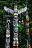 Totem Poles Royalty Free Stock Photos