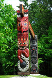 Totem poles Stock Photos