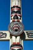 Totem poles royalty free stock image