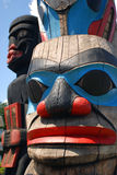 The Totem Poles Royalty Free Stock Photos