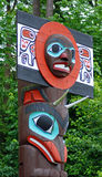 The Totem Poles Stock Photo