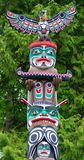 The Totem Poles Royalty Free Stock Photos