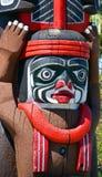 Totem poles Stock Photo