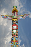 Totem in the sky Royalty Free Stock Image