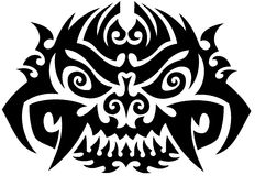 Totem Tattoo Background Stock Images