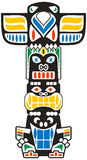 Totem tribal Photographie stock