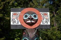 totem vancouver культуры индийский Стоковые Изображения RF