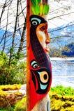 Totemcultuur Stock Foto's