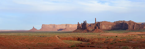 Totempaal, de Vallei van het Monument Royalty-vrije Stock Fotografie