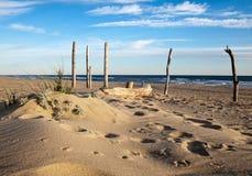 totems пляжа Стоковое Изображение RF