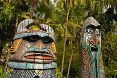 Totems Royalty Free Stock Photography
