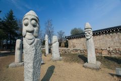 Totems in Azië Stock Afbeelding