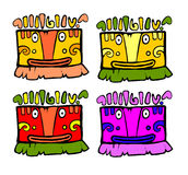Totems of luck Royalty Free Stock Photos