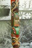 Totemy - Kanada zdjęcie stock