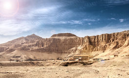 Totentempel von Hatshepsut Stockfotos