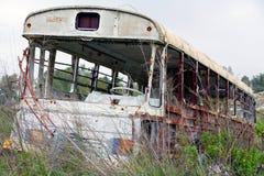 Toter Bus Lizenzfreies Stockfoto