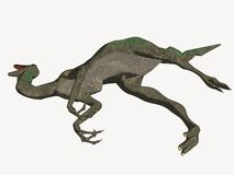 Toter Karikatur-Dinosaurier Lizenzfreie Stockfotografie