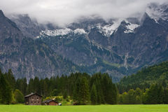 Totes Gebirge Mountains from to Almsee Royalty Free Stock Photography