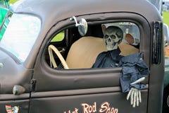 Totes Mann-Fahren Stockbild