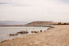 Totes Meer außerhalb des Erholungsgebiets Stockfotos