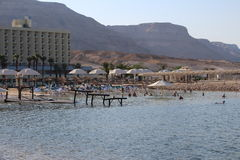 Totes Meer in Israel - Ein Bokek Lizenzfreie Stockfotografie