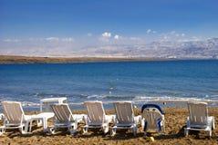 Totes Meer von Israel stockbild