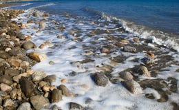 Totes Meer von Israel lizenzfreies stockbild