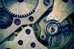 toting макроса шестерни предпосылки механически разделенный Стоковое Изображение