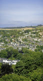 Totnes. A view over the town of totnes the south hams devon england uk Stock Images