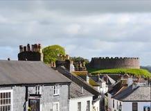 Totnes Castle στα ζαμπόν Devon Αγγλία Στοκ φωτογραφία με δικαίωμα ελεύθερης χρήσης