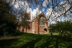 Totnes church devonshire UK Royalty Free Stock Photography