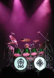 Toto drummer Simon Phillips in action Stock Image