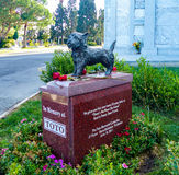 Toto Memorial In Hollywood Forever-Kirchhof - Garten von Legenden stockfotografie