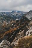 Toton Gebirge Royaltyfria Foton