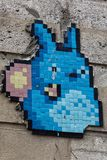 Totoro-Pixelhäschen Lizenzfreie Stockbilder
